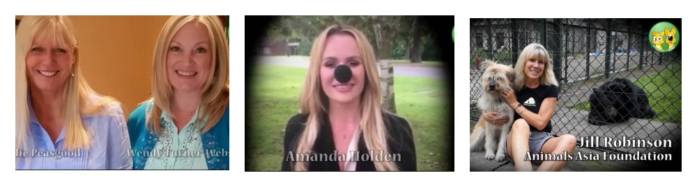 The Wetnose Day Film featuring Anneka Svenska, Amanda Holden and Jill Robinson