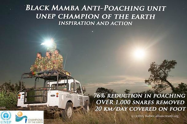 The Black Mambas Film