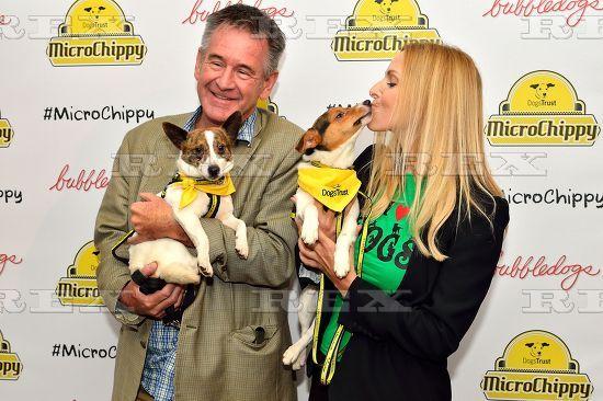 Anneka Svenska & Nigel Marven attend Dogs Trust Microchippy