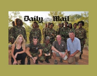 Daily Mail The Black Mambas Anneka Svenska Nigel Marven