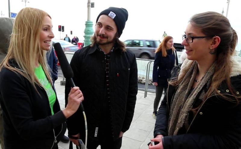 Anneka Svenska VegFestUK Brighton 2016
