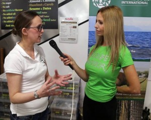 Anneka Svenska Humane Society International  VegFestUK Brighton 2016