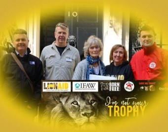 March to Stop Lion Trophy Imports 30.04.16