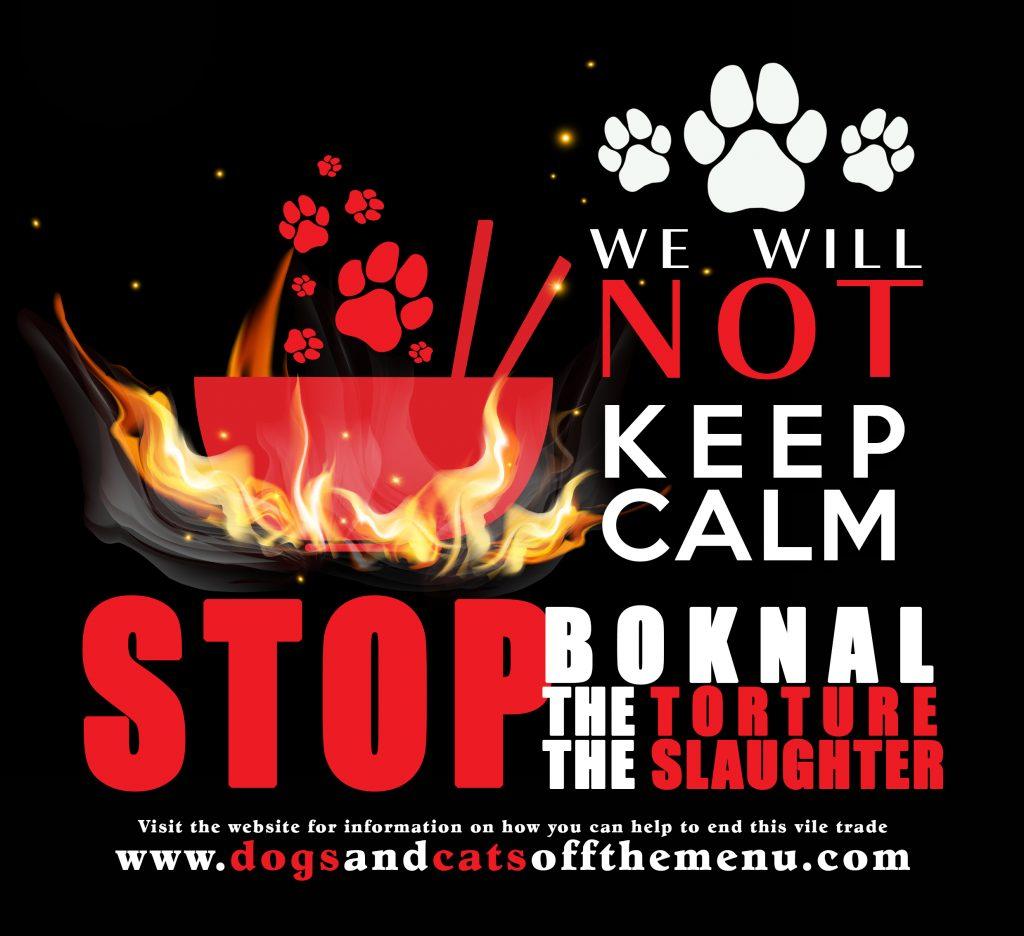 Anneka Svenska #boknal Boknal Korean dog meat protest demo march London Friday 8th 2016 UK