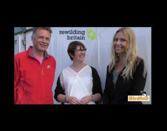 Chris Packham Anneka Svenska BirdFair