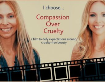Anneka Svenska Compassion Over Cruelty Launch Cruelty Free cosmetics