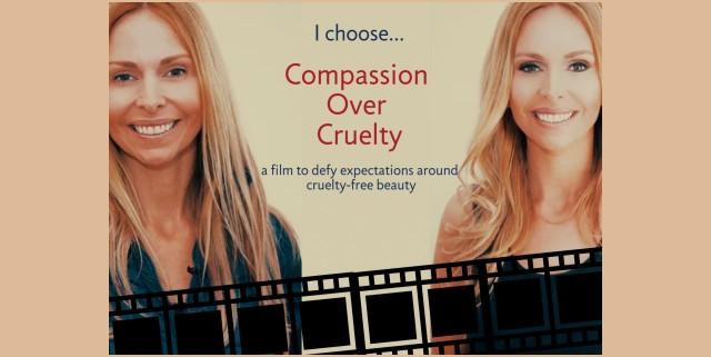 Anneka Svenska Compassion Over Cruelty Launch Cruelty Free cosmetics