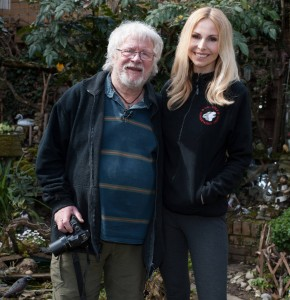 Anneka Svenska and Bill Oddie