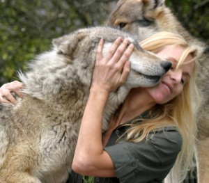 Anneka Svenska and Wolf